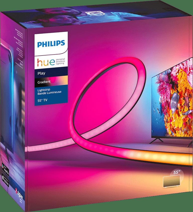 Schwarz Philips Hue Play Gradient Lightstrip (55-inch).2
