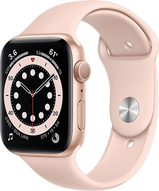 Sand pink Apple Watch Series 6 GPS, 40mm.1