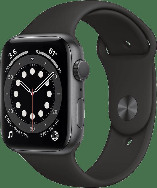 Black Apple Watch Series 6 GPS, 40mm.1