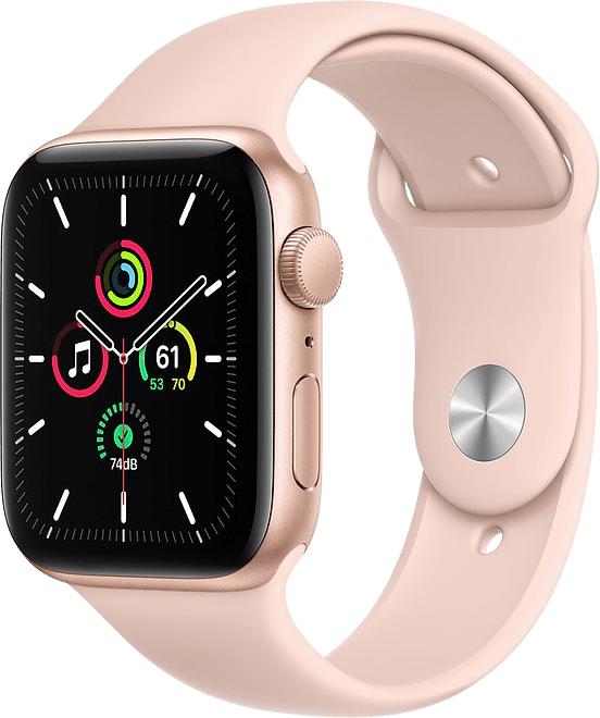 Sand pink Apple Watch SE GPS, 40mm.1