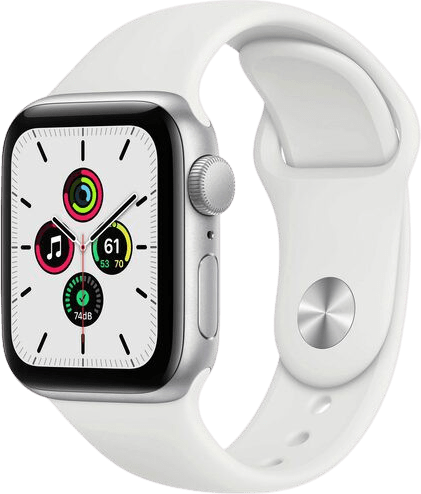 White Apple Watch SE GPS, 40mm.1