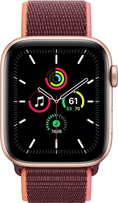 Plum Apple Watch SE GPS + Cellular, 44mm.2
