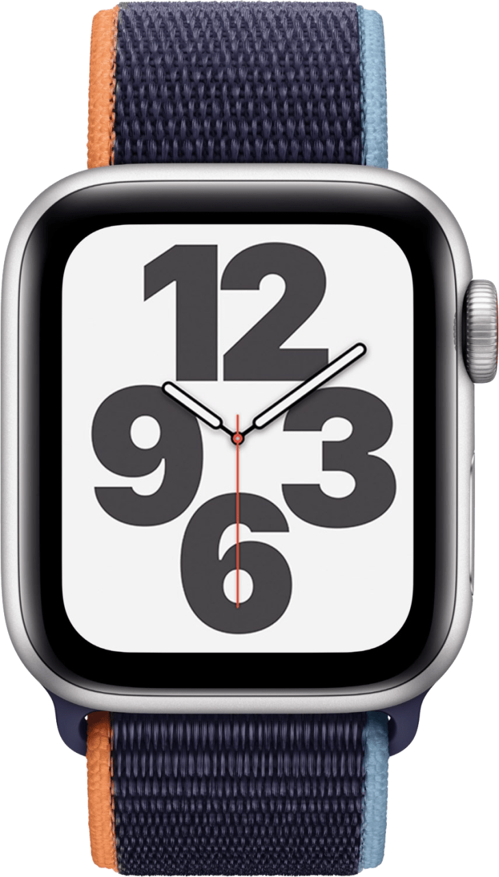 Dark marine Apple Watch SE GPS + Cellular, 44mm Aluminium case, Sport loop / band.2