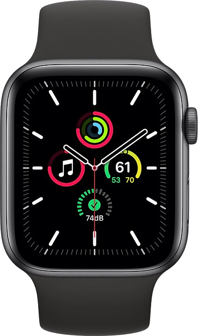 Black Apple Watch SE GPS, 40mm.2