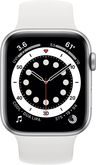 White Apple Watch Series 6 GPS, 44mm.2