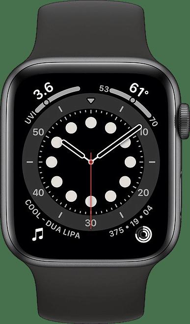 Black Apple Watch Series 6 GPS, 40mm.2