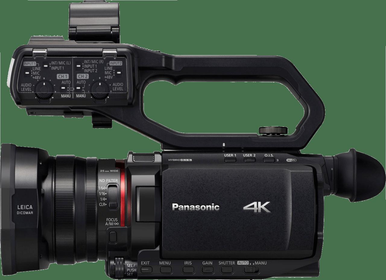Zwart Panasonic HC-X2000E.2