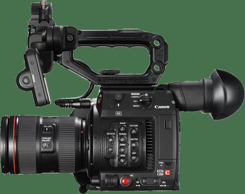 Black Canon EOS C200 Kit (24-105mm Lens).3