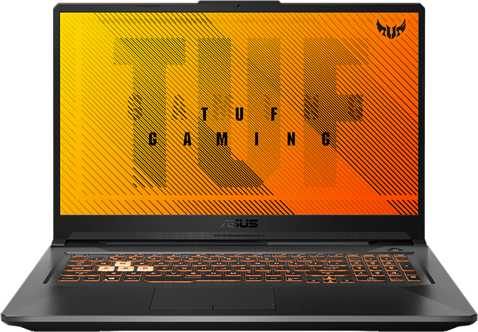 Bonfire Black Asus TUF Gaming A17.1
