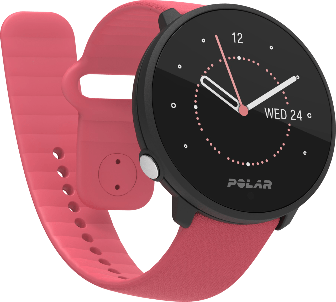Pink Polar Unite GPS Sports watch.1