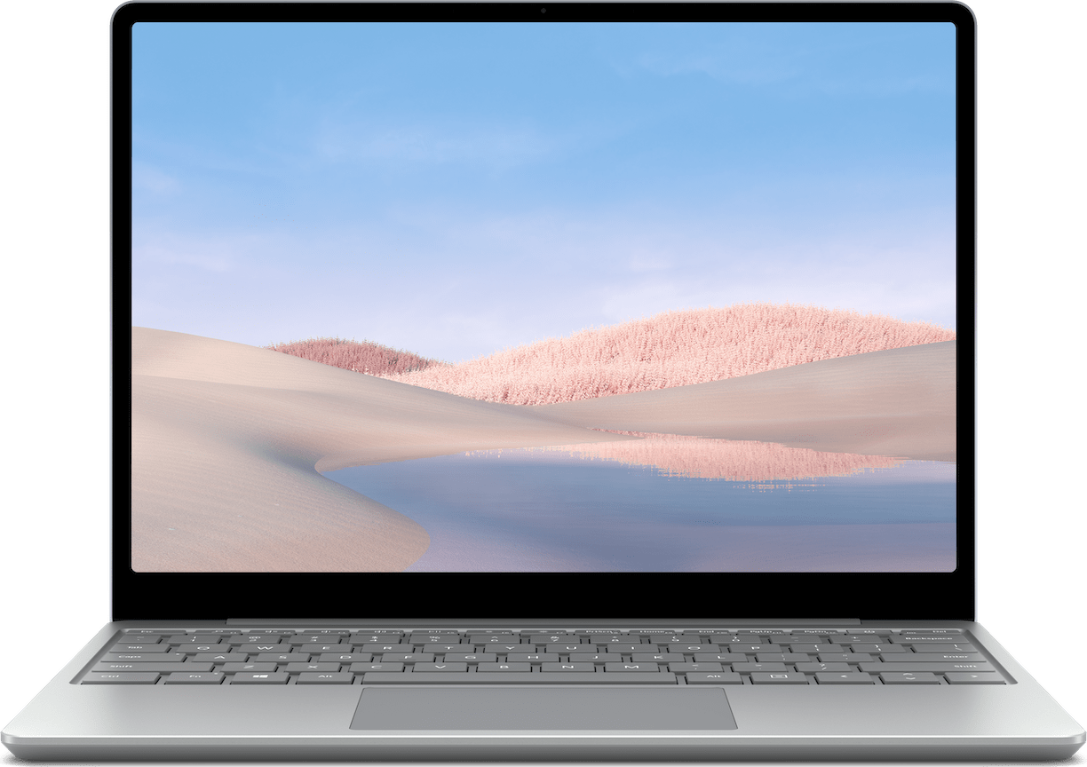 Platin Microsoft Surface Laptop Go Notebook - Intel® Core™ i5-1035G1 - 8GB - 128GB SSD - Intel® Iris™ Plus Graphics.1