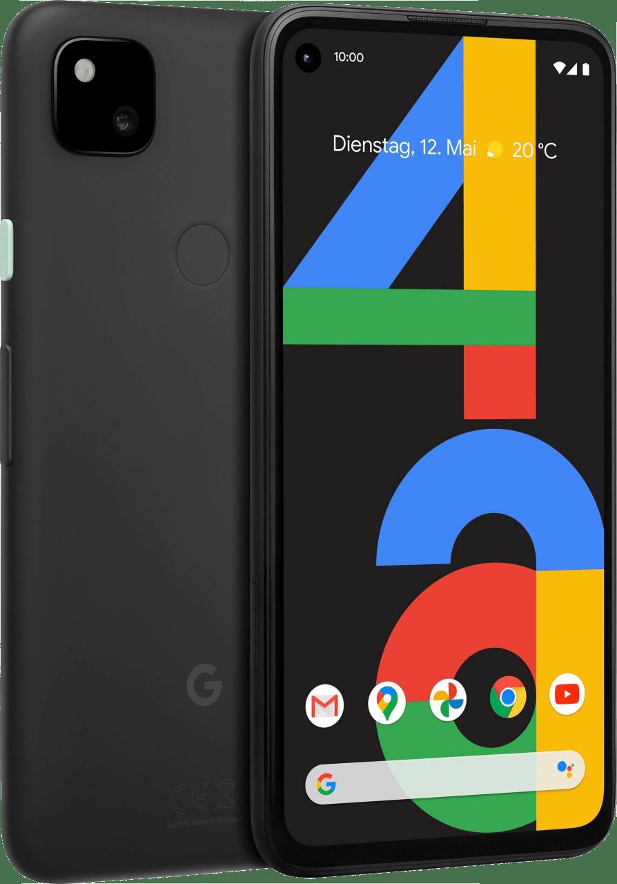 Just Black Google Pixel 4a 128GB.1