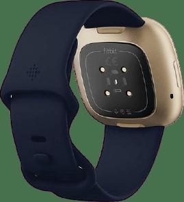Midnight & Soft gold Fitbit Versa 3 Smartwatch.3
