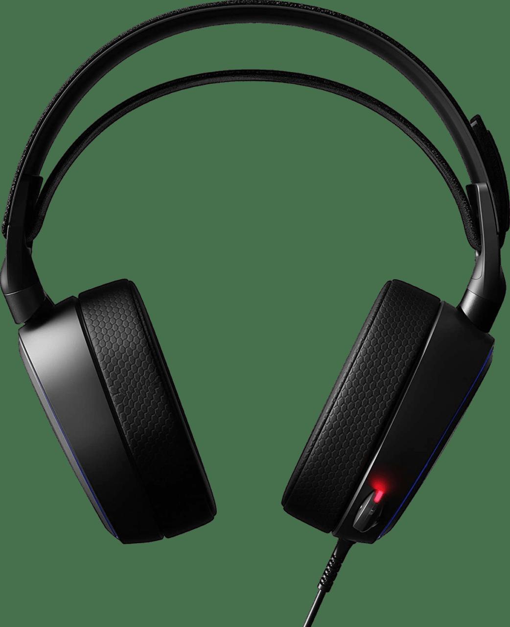 Black SteelSeries Arctis Pro + GameDAC.2