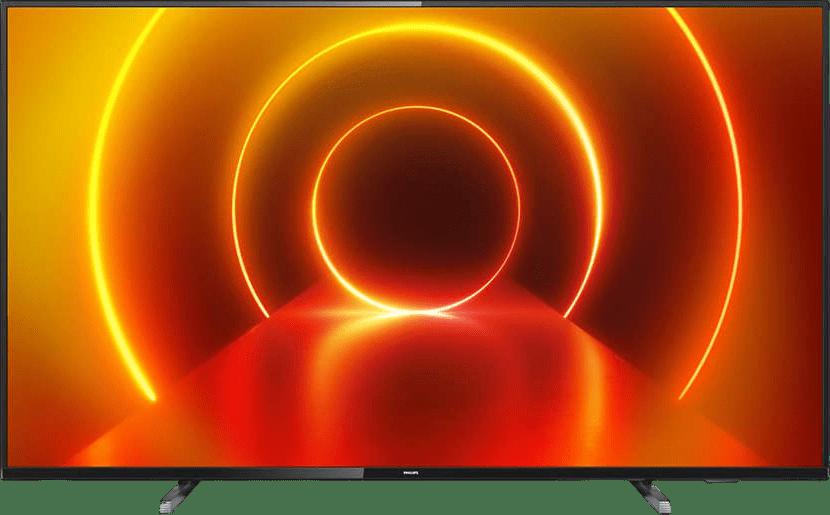 """Grey Philips TV 55"""" PUS7805.1"""