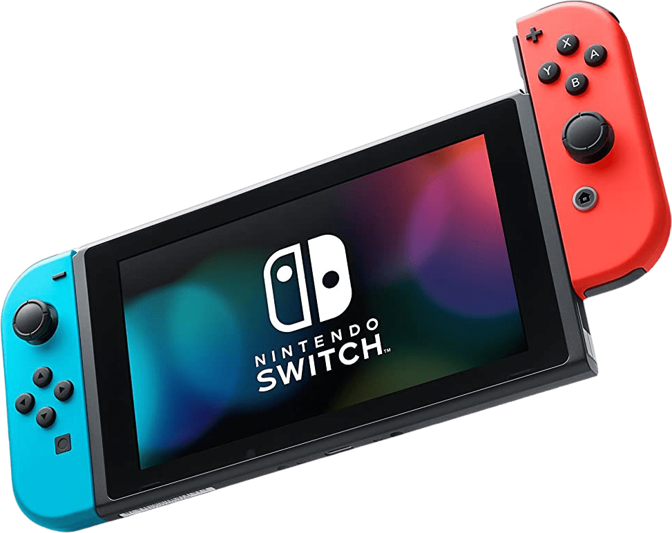 Neon Red / Neon Blue Nintendo Switch (2019 Edition).3