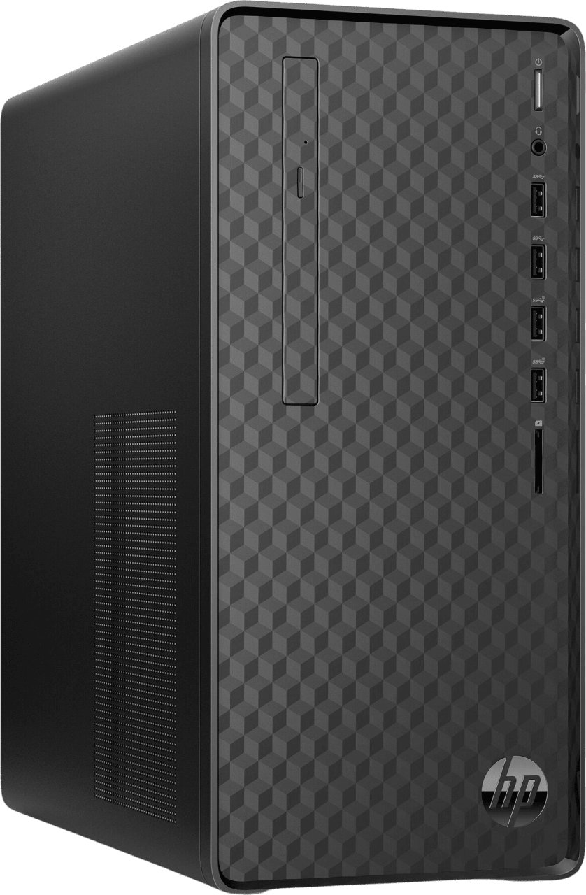 Jet Black HP Pavilion M01-F0011ng Mini PC - AMD Ryzen™ 5 3400G - 8GB - 256GB SSD + 1TB HDD - AMD Radeon Graphics.2