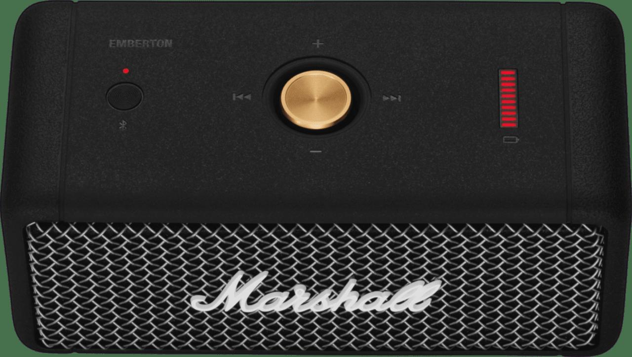 Black Bluetooth Speaker Marshall Emberton Bluetooth Speaker.4