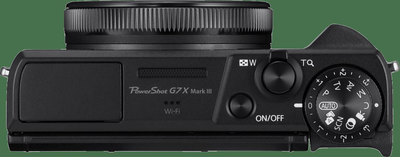 Schwarz Canon PowerShot G7X Mark III.4