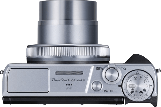Silber Canon PowerShot G7X Mark III.3