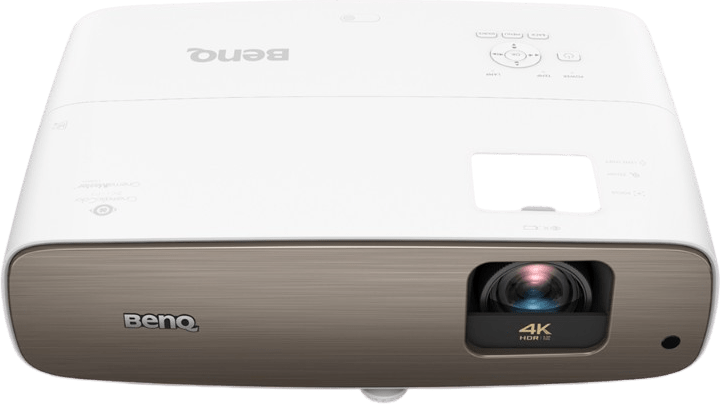 White Benq W2700 Projector - 4K.2