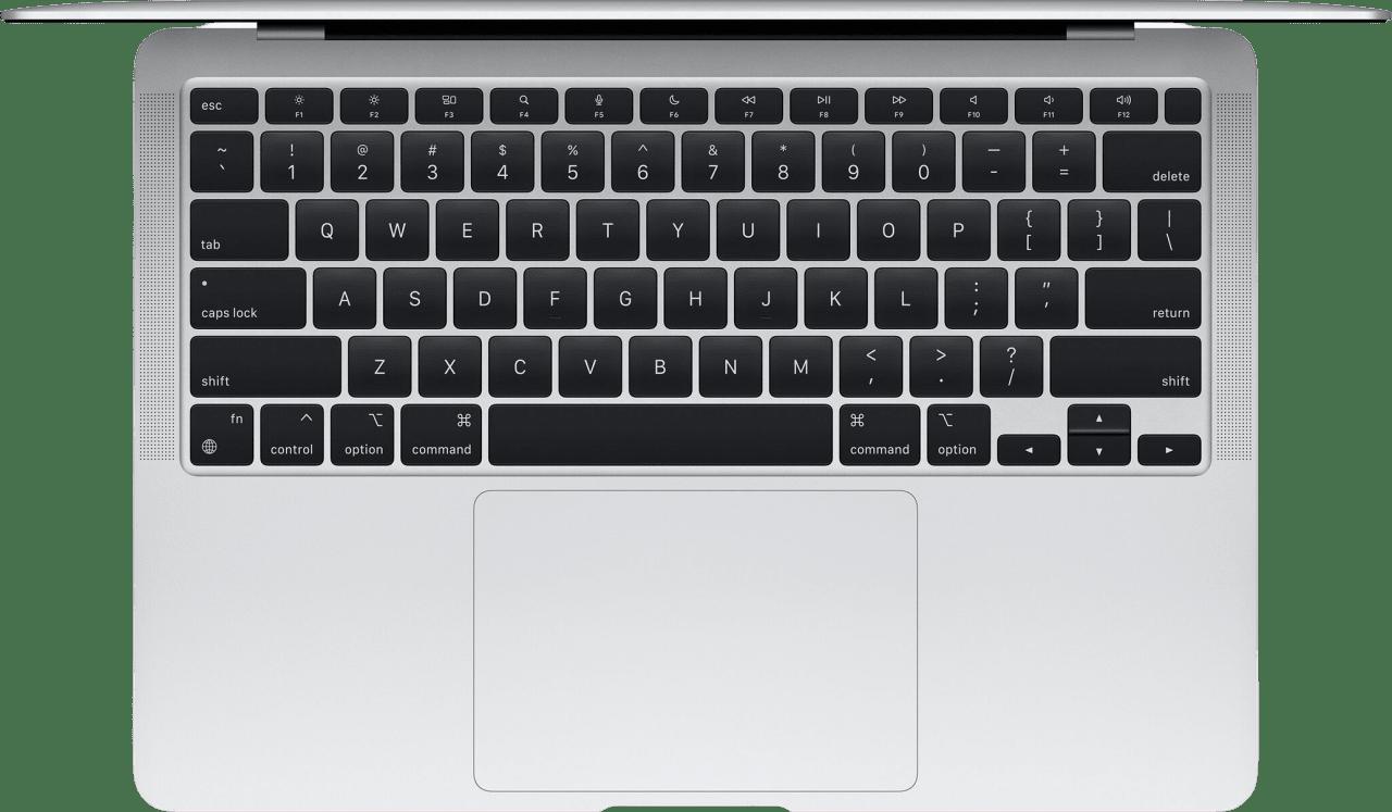 Silver Apple MacBook Air (Late 2020) - Laptop - Apple M1 - 8GB Memory - 256GB SSD.2