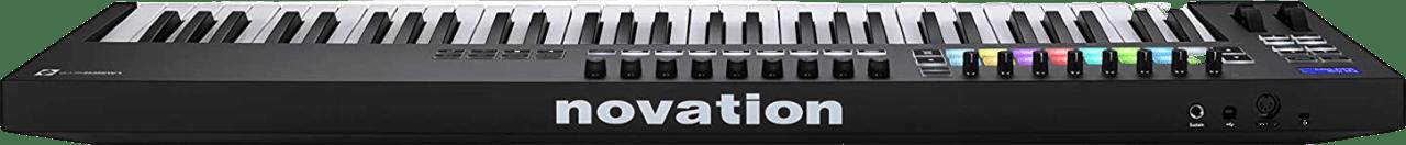 Black Novation Launchkey 61 MK3 USB MIDI keyboard.2