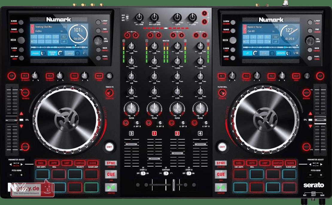Black Numark NV II All in one DJ controller.1