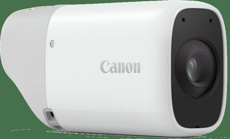 White Canon Powershot Zoom.3