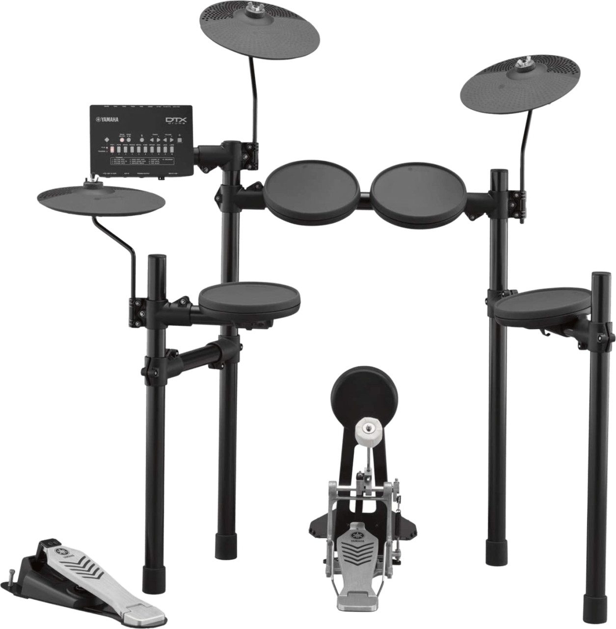 Black Yamaha DTX432K E-drum set.1