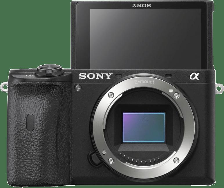 Schwarz Sony ALPHA 6600 Body.4