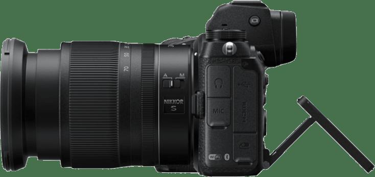 Negro Nikon Z7 II + 24 - 70mm Kit de cámara y lente.3