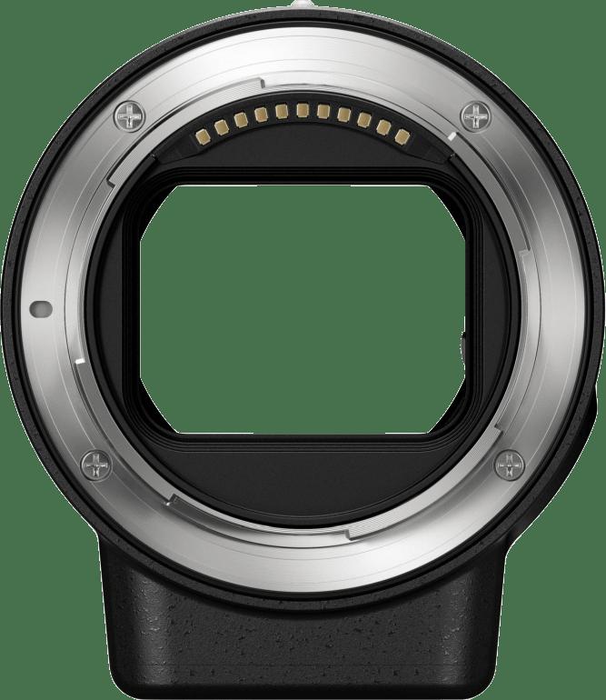 Black Nikon FTZ bayonet adapter.2