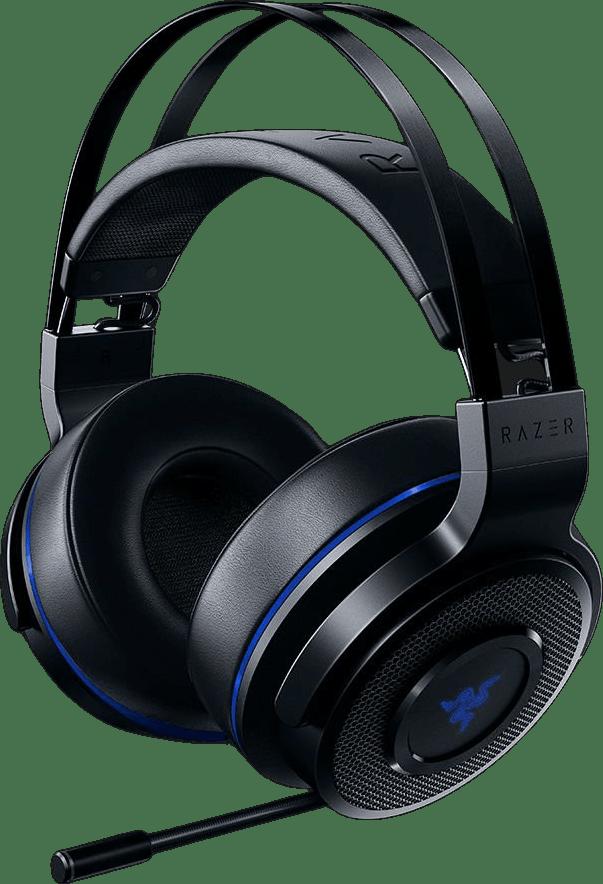 Black Razer Thresher 7.1 (Playstation) Over-ear Gaming Headphones.4