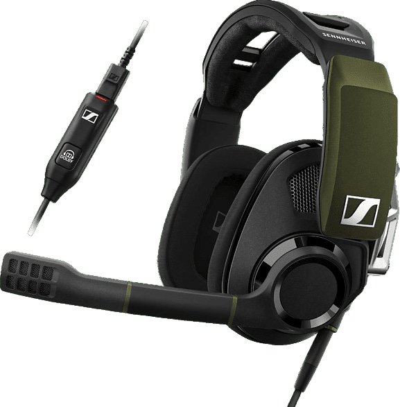 Black EPOS Sennheiser GSP 550 Over-ear Gaming Headphones.1