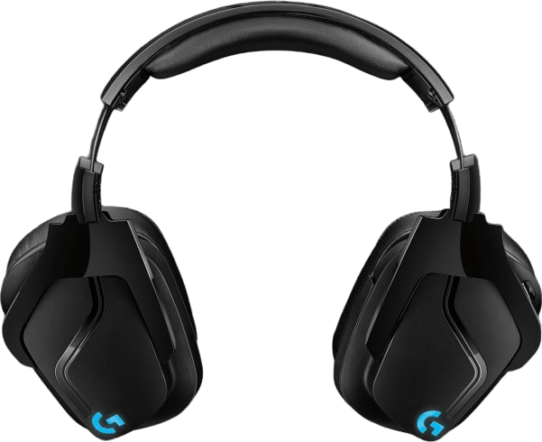 Black Logitech G935 Over-ear Gaming Headphones.4