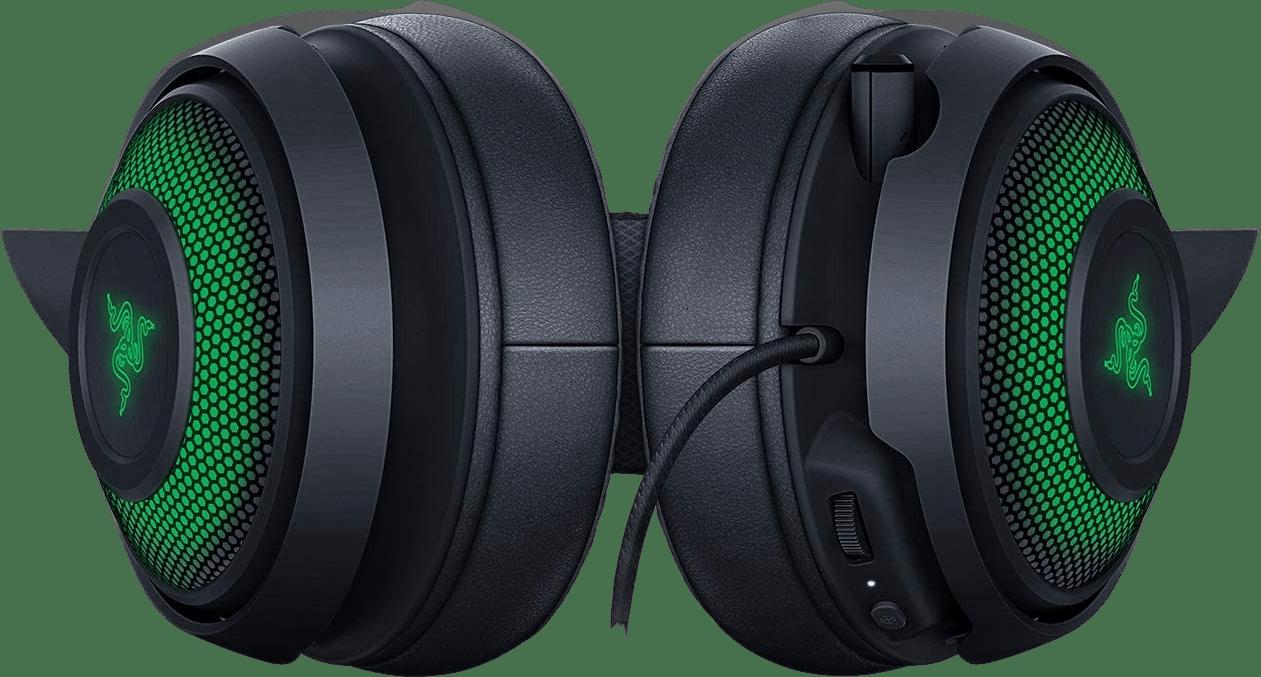 Black Razer Kraken Kitty Edition Over-ear Gaming Headphones.4