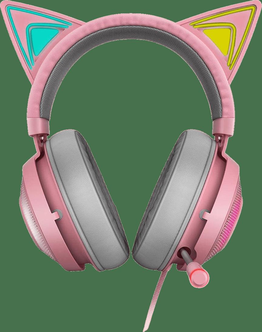 Quartz Razer Kraken Kitty Edition Over-ear Gaming Headphones.1
