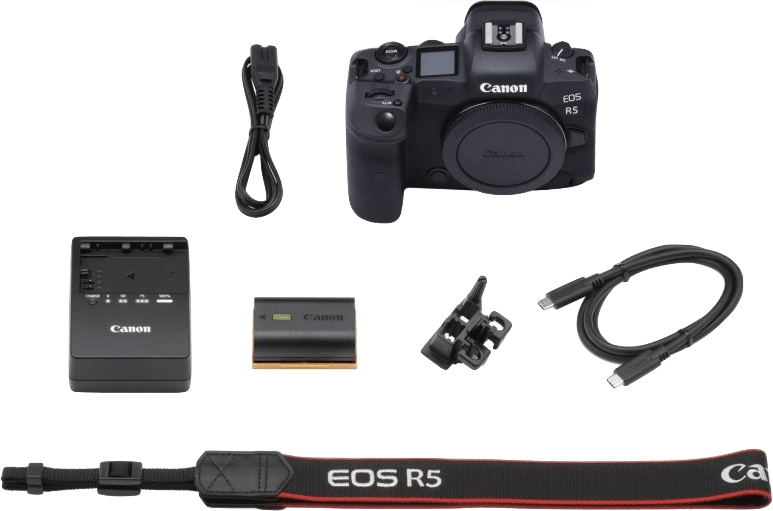 Black Canon EOS R5 Body.2