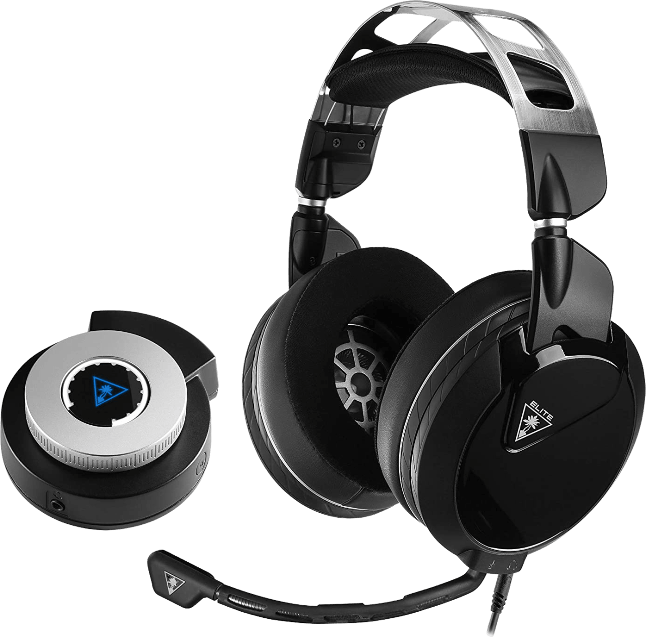 Black Turtle Beach Elite Pro 2 + SuperAmp (Playstation) Over-ear Gaming Headphones.1