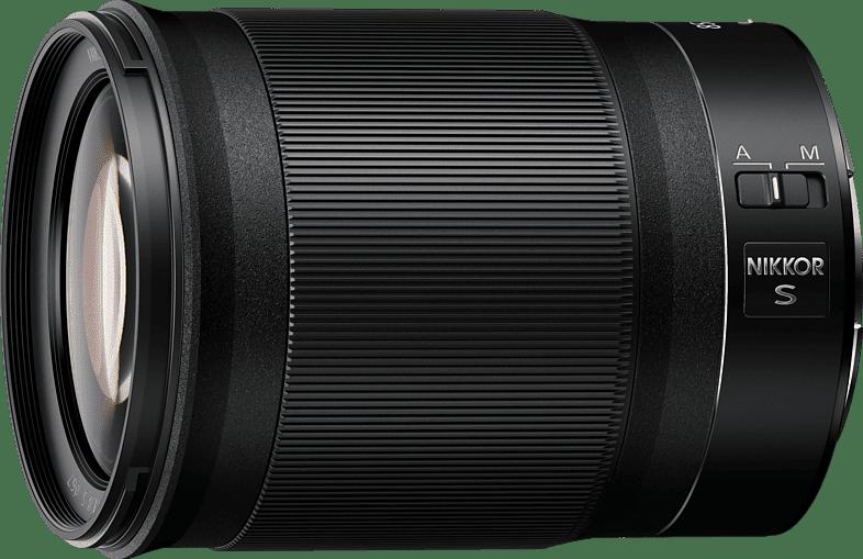 Zwart NIKON Z 85 mm f./1.8 ED Lens.1