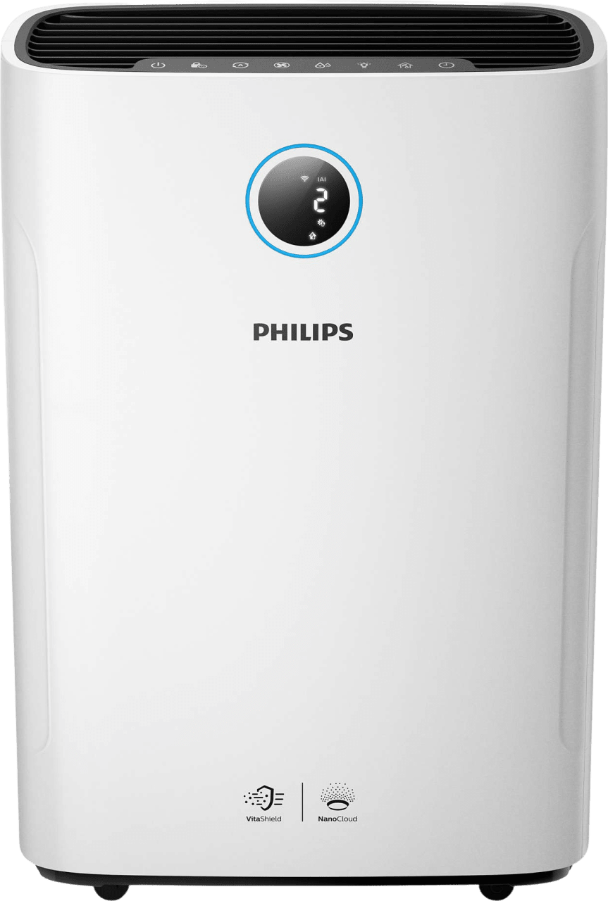 White Philips AC2729/10 Air Purifier and Humidifier.2