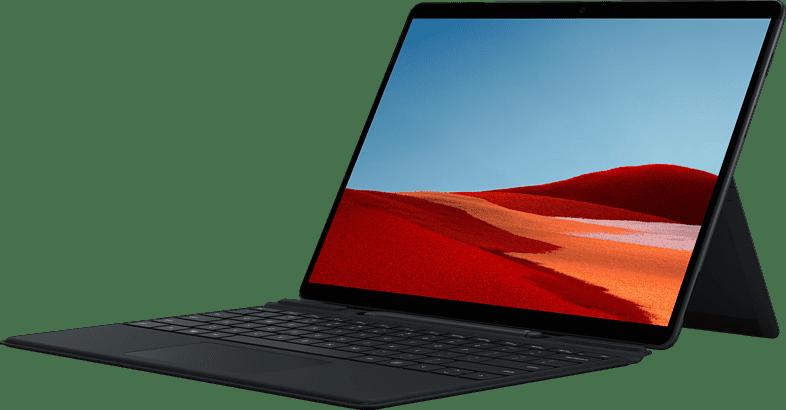 "Black Microsoft Surface Pro X 13"" - Convertible - Microsoft SQ2 - 16GB - 256GB with Signature Keyboard and Slim Pen (Bundle).1"