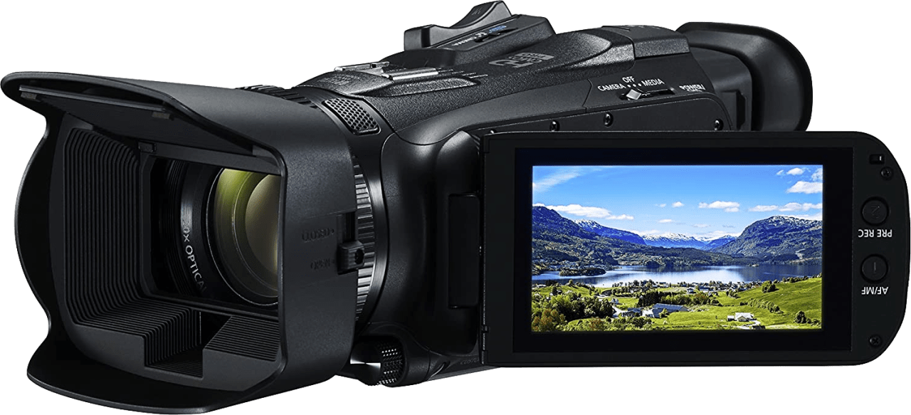 Black Canon Legria HF G60 4K Camcorder.2