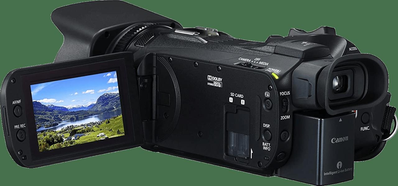 Black Canon Legria HF G60 4K Camcorder.4
