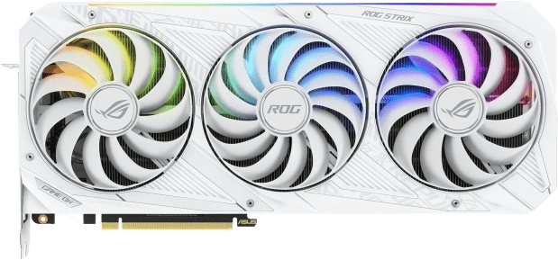 White Asus ROG -STRIX-RTX3090-O24G-WHITE Graphics Card.1