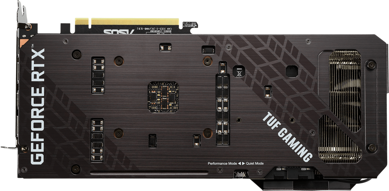Black Asus TUF Gaming TUF-RTX3070-O8G-GAMING Graphics Card.2