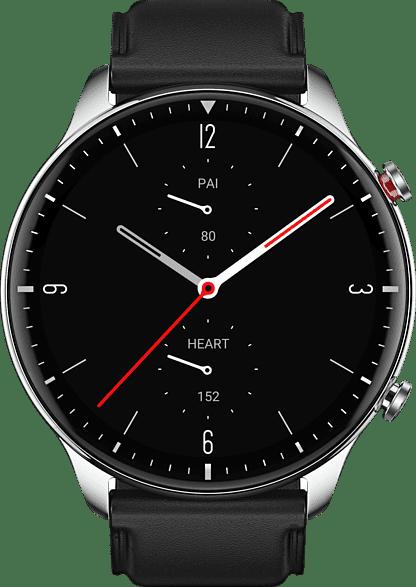 Silber Amazfit GTR 2 Smartwatch, 46mm Alumium / Edelstahlgehäuse.3