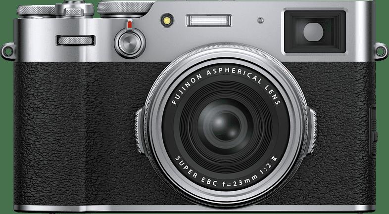Silver Fujifilm X100V Compact Camera.1