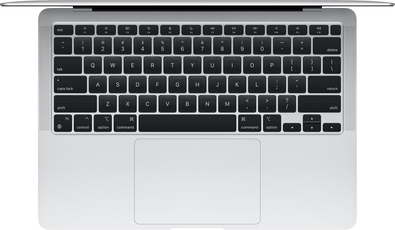 Silver Apple MacBook Air (Late 2020) - English (QWERTY) Laptop - Apple M1 - 16GB - 256GB SSD - Apple Integrated 7-core GPU.2